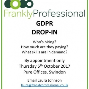 Featured image for GDPR Drop-in Event