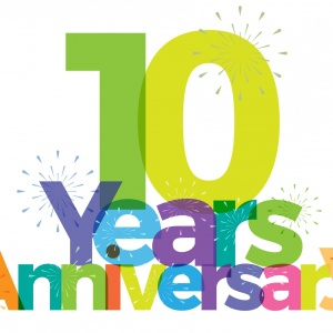 Featured image for It's our 10th birthday!